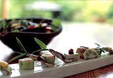 宮島と瀬戸を一望にする庭園と離れの宿 石亭・お料理